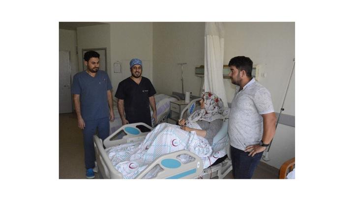 Siverek'te ilk defa laparoskopik böbrek ameliyatı gerçekleştirildi
