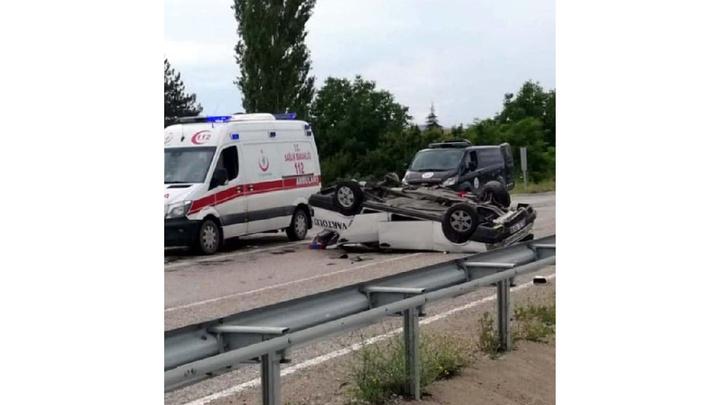 Başkentte takla atan otomobilde 1,5 aylık bebek öldü, 5 kişi yaralandı