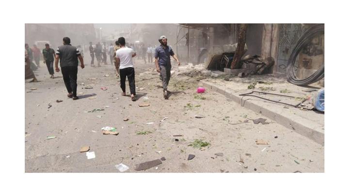 Çobanbey'de meydana gelen patlamada 16 kişi yaralandı