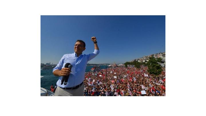Ekrem İmamoğlu son seçim mitingini Üsküdar'da gerçekleştirdi