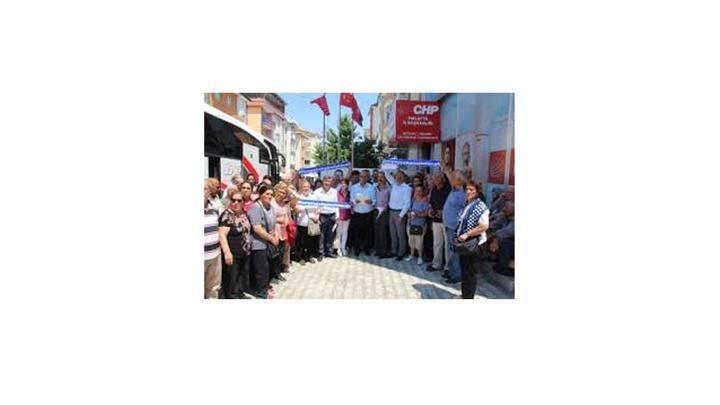 CHP, İstanbul seçimleri için Malatya'dan otobüs kaldırdı
