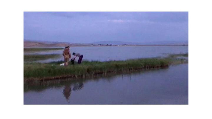 Ağrı'da balık tutmaya çalışan iki kardeşten biri boğularak can verdi