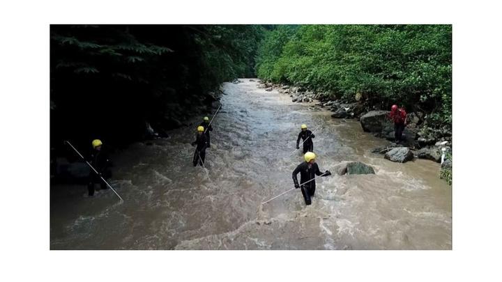 Araklı'da selde kaybolan 3 kişiyi bulmak için JAK Timleri canla başla çalışıyor