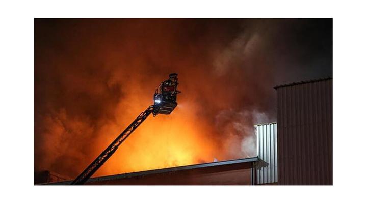 Büyükçekmece'de fabrika yangını: 4 ölü, 2 yaralı