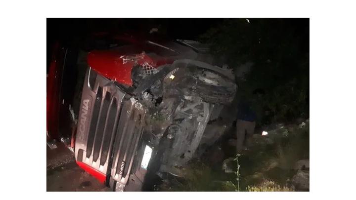 Kütahya'da TIR kazası: 1 yaralı