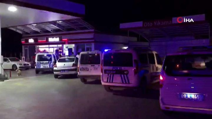 Kuşadası'nda otogaz istasyonuna silahlı saldırı: 1 yaralı