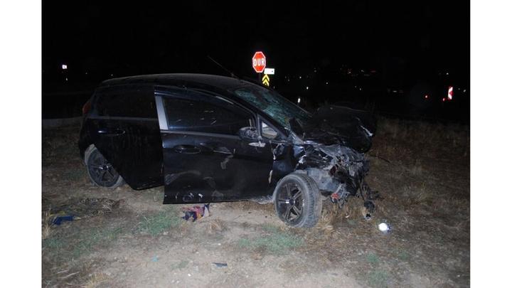 Manisa'da otomobil ile pikap çarpıştı: 4'ü çocuk, 10 yaralı