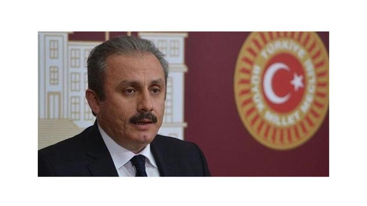 TBMM Başkanı Mustafa Şentop'tan Ekrem İmamoğlu'na tebrik telefonu