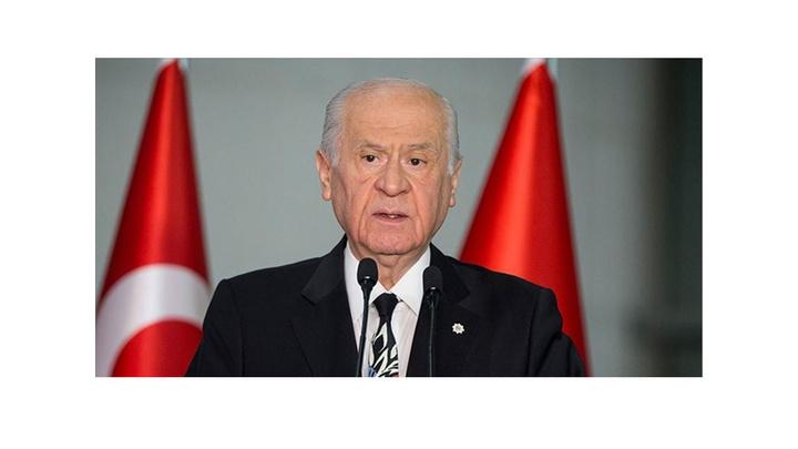MHP Lideri Devlet Bahçeli'den 23 Haziran seçimine ilişkin açıklama