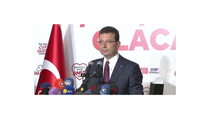 Ekrem İmamoğlu: 16 milyon İstanbulluya yürekten teşekkür ediyorum