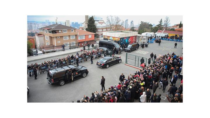 Cumhurbaşkanı Recep Tayyip Erdoğan'ın oyunu kullanacağı okulda yoğun güvenlik önlemi alındı