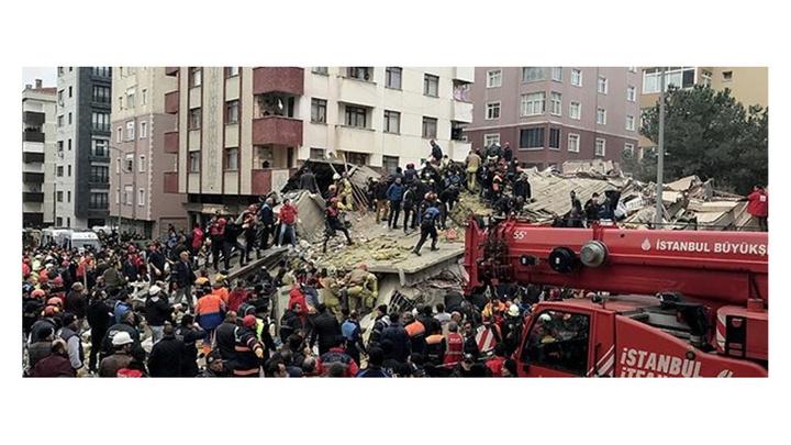 Kartal'da 21 kişinin öldüğü 17 kişinin yaralandığı Yeşilyurt Apartmanı davası başladı