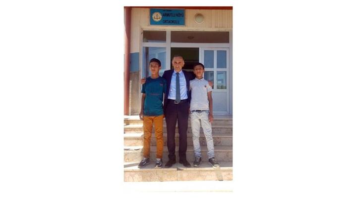 LGS'de Türkiye birincisi Sarıkamış'ın Armutlu Köyü'nden Adil Karadağ