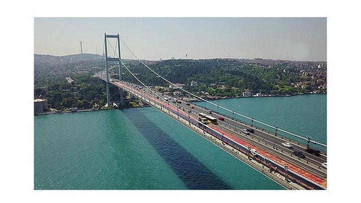Fatih Sultan Mehmet köprüsündeki asfaltlama çalışmaları nedeniyle 4 şerit 50 gün boyunca kapatılacak