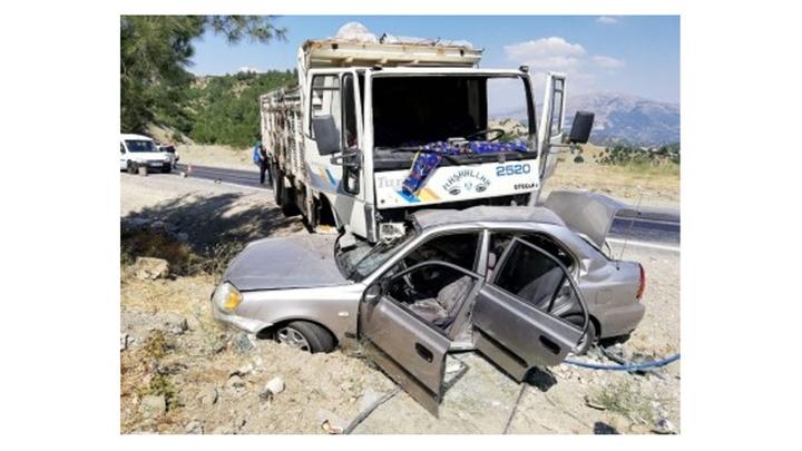 Kahramanmaraş'ta kazada polis memuru öldü
