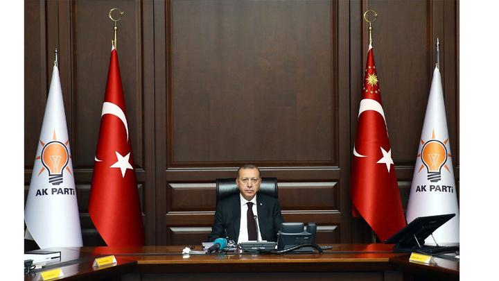 Cumhurbaşkanı Recep Tayyip Erdoğan başkanlığında AK Parti MYK toplandı.