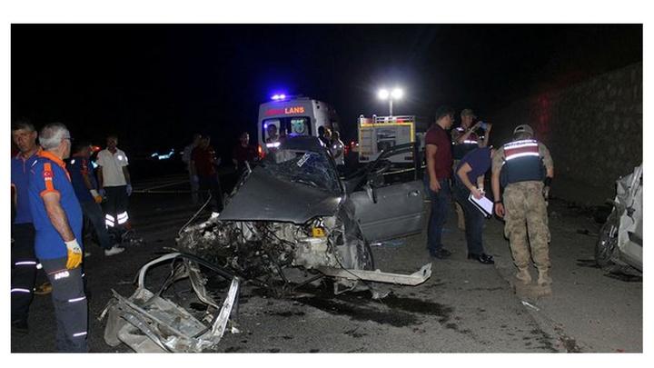 Adıyaman'da izine giden Uzman Çavuş ve arkadaşı trafik kazasında can verdi