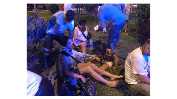 Alanya'da trafik kazası: 1 turist öldü, 5'i turist 7 yaralı