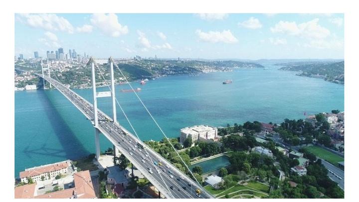 FSM'de bakım onarım çalışmaları nedeniyle vatandaş 15 Temmuz Şehitler Köprüsü'ne akın etti