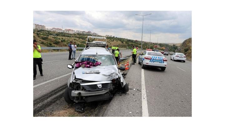 Yozgat'ta trafik kazasında 7 kişi yaralandı