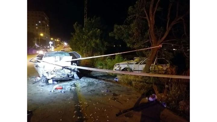 Başkentte iki otomobil çarpıştı: 1' çocuk 4 yaralı