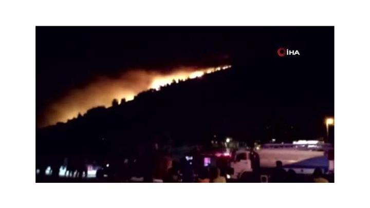 Datça'da  12 saat süren orman yangını kontrol altına alındı
