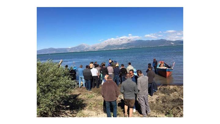 AK Parti Gelendost ilçe yöneticisi Murat Satılmış Eğirdir Gölü'nde kayboldu