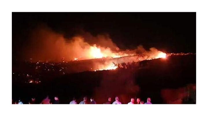 KKTC'de Taşkent bölgesinde patlama meydana geldi