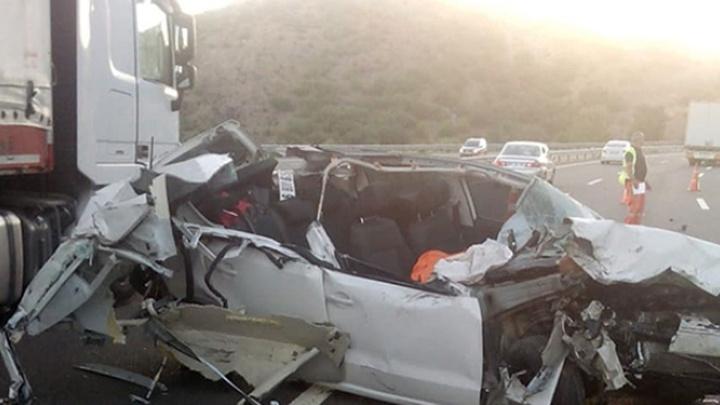 Kızılcahamam'da trafik kazası: 1 ölü, 1 yaralı