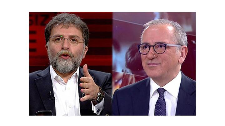 Fatih Altaylı ve Ahmet Hakan arasındaki 'Erdoğan'ın uçağına binme' tartışmaları sürüyor!