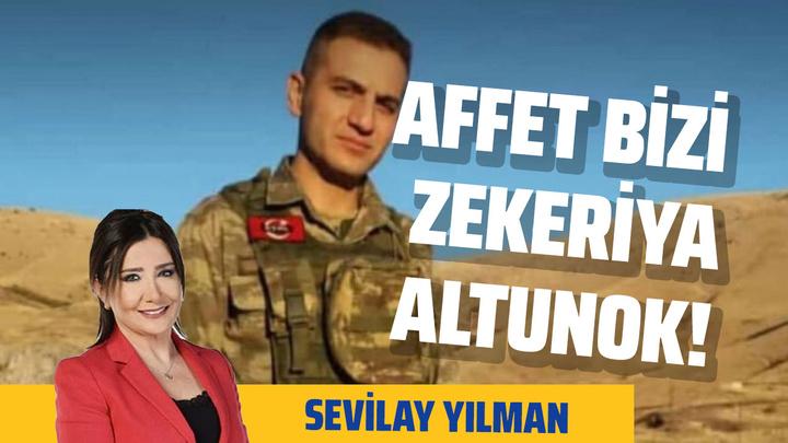 Sevilay Yılman KHK mağduru, harekat şehidini yazdı: Affet bizi Zekeriya Altınok!