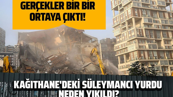 Kağıthane'de Süleymancı yurdu neden yıkıldı? Ali Karahasanoğlu olayın iç yüzünü yazdı