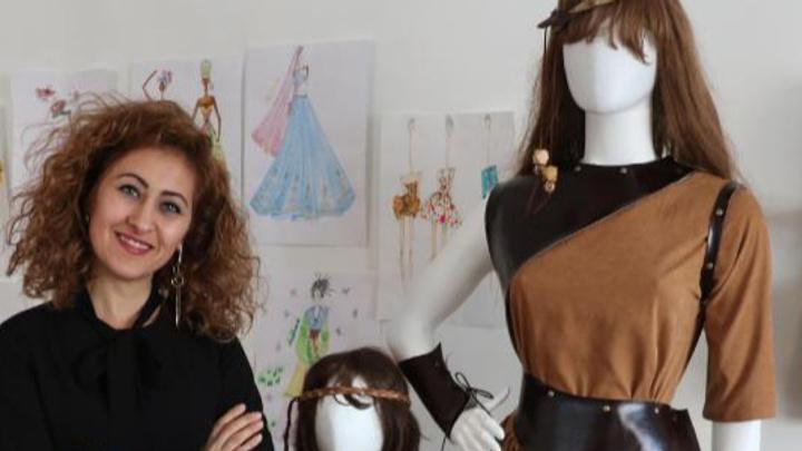 50ec6af07cb37 Samsun'da yaşayan ziraat yüksek mühendisi 1 çocuk annesi Asuman Kanca,  yaklaşık 10 yıl özel sektörde mesleğini yaptıktan sonra çocukluk hayali  olan moda ...