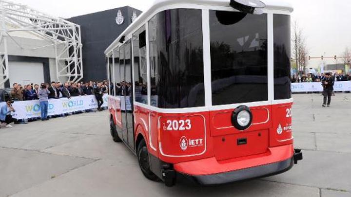 İETT sürücüsüz aracın imalatını  3 kentte tamamladı