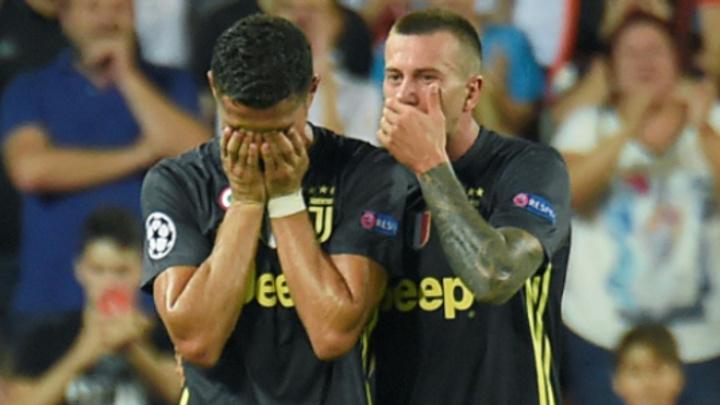 Şampiyonlar Ligi'nde toplu sonuçlar: Ronaldo sahayı gözyaşları ile terketti