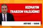 Akif Beki'den dikkat çeken yazı: Kızmayın Trabzon Valiliğine!