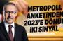 Abdulkadir Selvi: Metropol anketinden 2023'e dönük iki sinyal