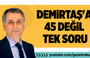 Mahmut Övür: Demirtaş'a 45 değil tek soru!