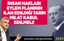 Ersoy Dede : İnsan Hakları Eylem  İlan Edildiği Tarih Milat Kabul Edilmeli !