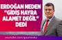 MEHMET ACET : ERDOĞAN NEDEN ''GİDİŞ HAYRA ALAMET DEĞİL'' DEDİ
