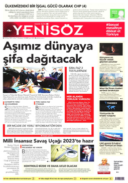 Yeni Söz Gazetesi