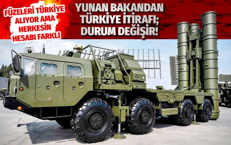 Yunan bakandan Türkiye itirafı!