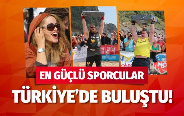 Dünyanın en güçlüleri Antalya'da yarışıyor!
