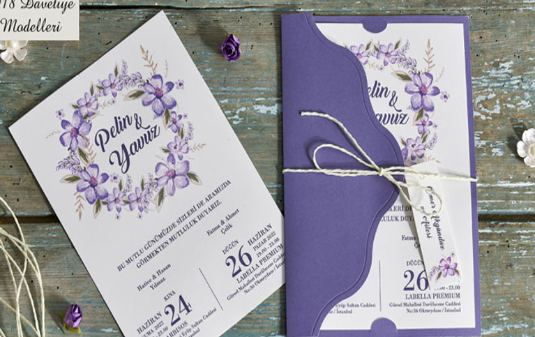 Düğün davetiyesi seçerken nelere dikkat edilmeli?