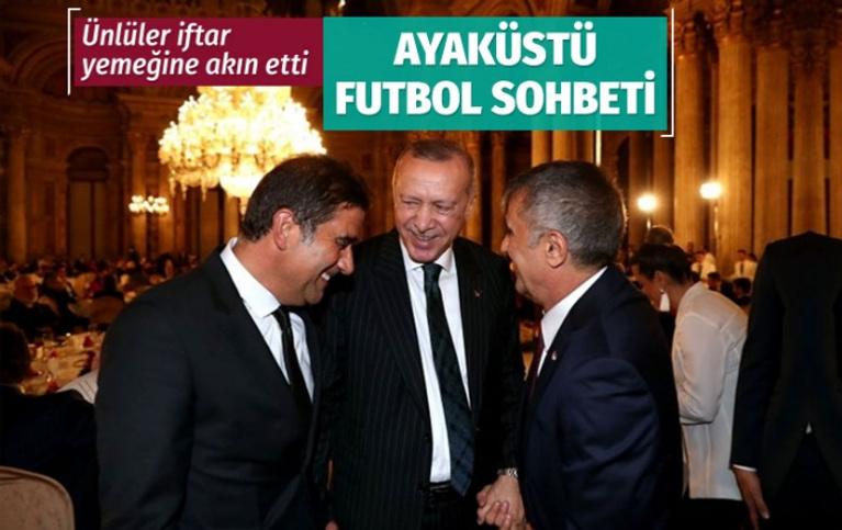 Cumhurbaşkanı Erdoğan sanatçı ve sporcularla bir araya geldi