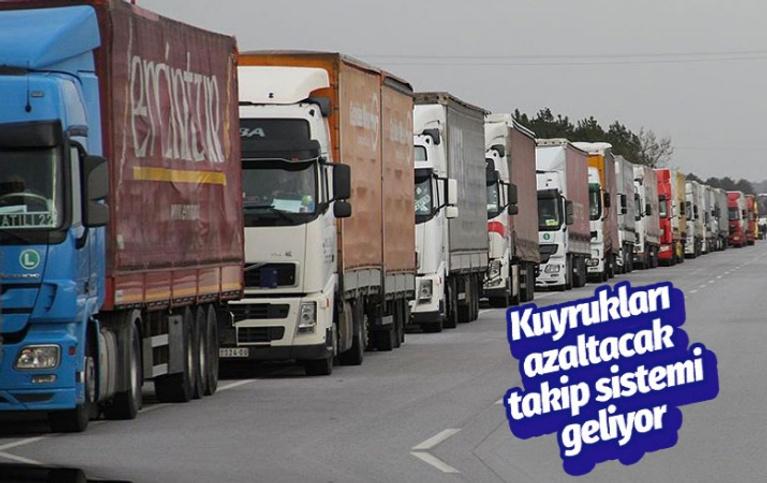 Bakanı Ruhsar Pekcan duyurdu! TIR kuyruklarını azaltacak takip sistemi geliyor