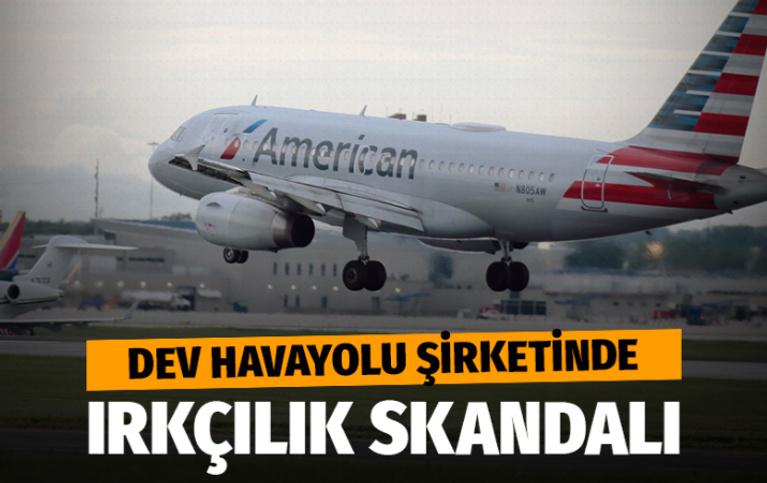 Dev havayolu şirketinde ırkçılık skandalı!