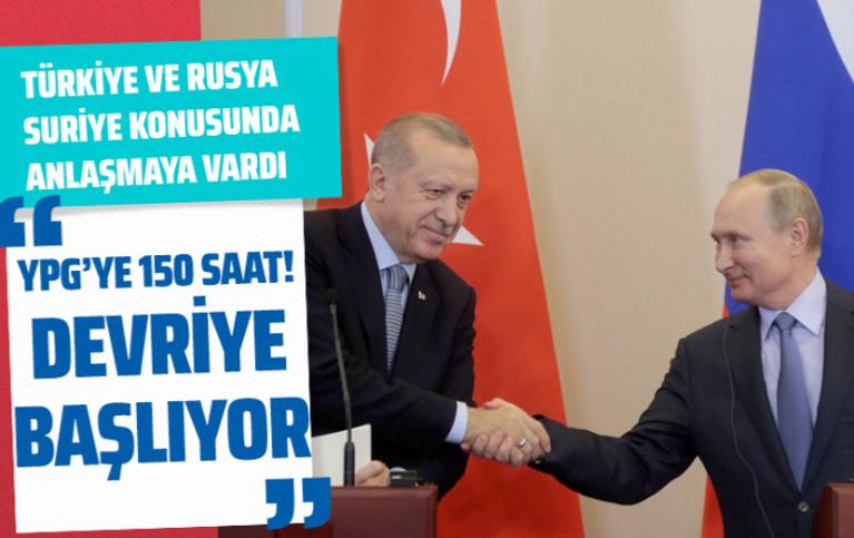 Erdoğan-Putin görüşmesinde anlaşmanın şartları belli oldu