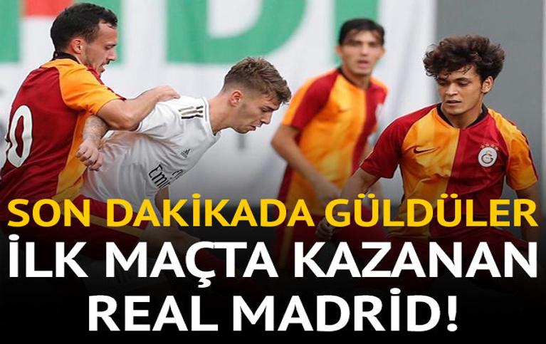 Real Madrid G.Saray'ı ilk maçta yıktı!