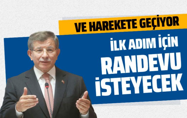 Ahmet Davutoğlu yeni parti için İçişleri Bakanlığı'ndan randevu isteyecek